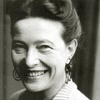 Foto -Simone de Beauvoir